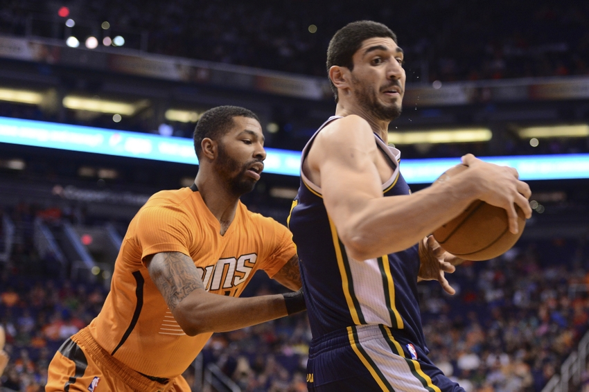 enes kanter  should the phoenix suns trade for him