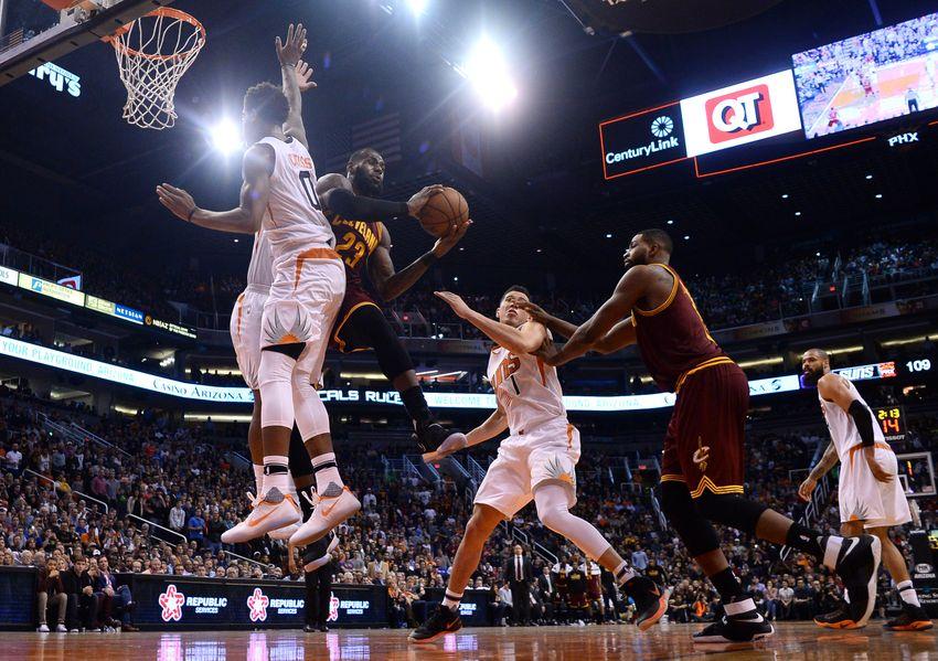 Jan   Phoenix Az Usa Cleveland Cavaliers Forward Lebron James