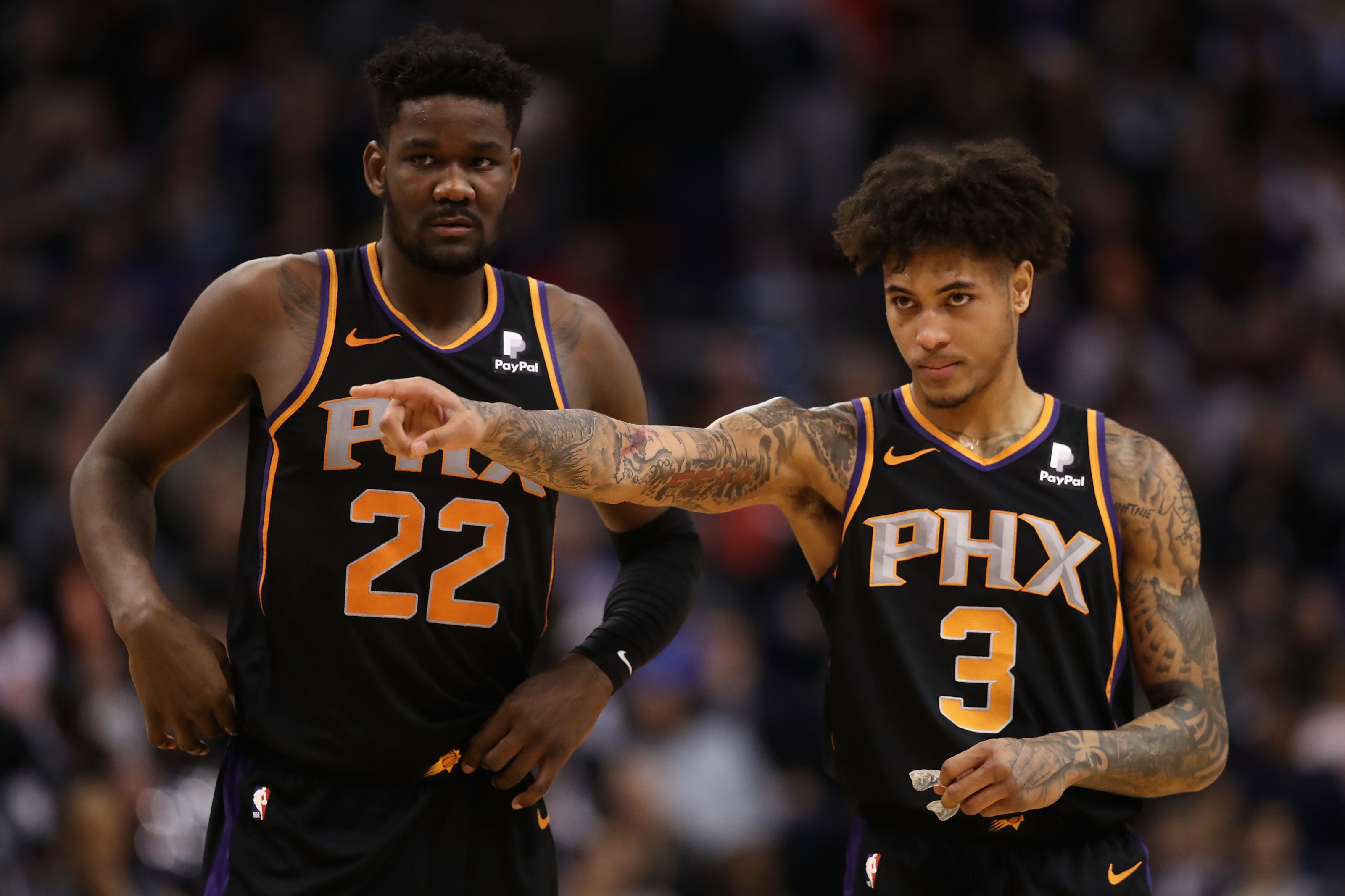 Deandre Ayton should take a step forward without Kelly Oubre for the Phoenix Suns