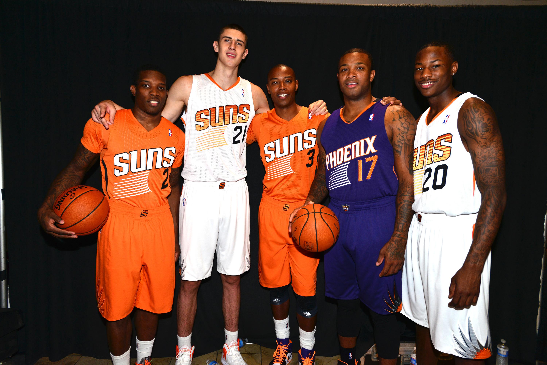 Phoenix Suns alternative uniforms arriving September 15, 2017
